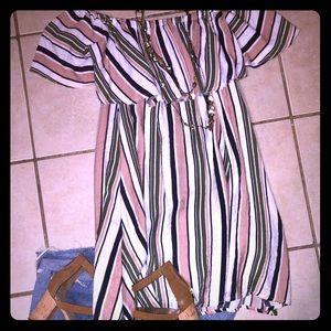 Summer or Fall Mini Dress! NEW